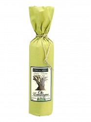 "Borgo de Medici extra virgin olive oil in ""old style"" yellow paper 750ml"
