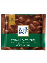 Ritter Sport Whole Almonds Chocolate 100g