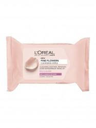 L'Oréal Paris, Fine Flowers Wipes Sensitive and Dry Skin