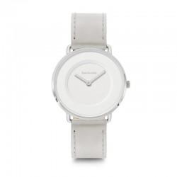 Lambretta 2250GRE Leather White Grey Watch