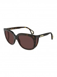 Gucci Brown Cat Eye Ladies Sunglasses