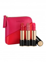 Lancôme L'Absolu Rouge Lipstick Trio