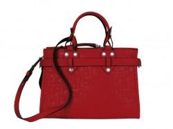 Longchamp Shoulder Bag Burnt Red