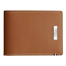 Billfold 6CC Punched Camel