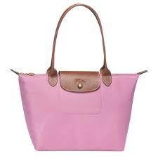 Longchamp Shoulder Bag Pink